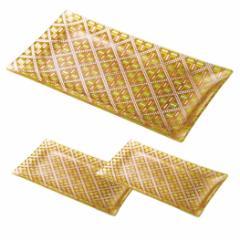 取寄品 長皿 3個セット トレー オレンジ オン・ザ・テーブル オリエンタル 日本製新生活 インテリア 生活雑貨通販