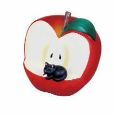 取寄品 スマホスタンド ギフト雑貨 スマホスタンド リンゴとネコ G-5146R ギフト グッズ
