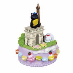 取寄品 オルゴール 結婚祝い ポリレジン オルゴール パリ バラ色の人生 ギフト グッズ