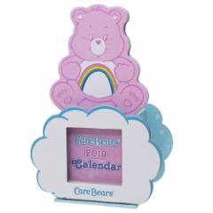 68%OFF カレンダー 2019 年 ケアベア 卓上カレンダー ペンスタンドタイプ CareBears 7.5×11×5.4c SALE 2/25朝10時まで