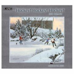 2019年 壁掛け カレンダー ラング LANG HOCKEY HOCKEY HOCKEY D.R.Laird 340×610mm インテリア 2019 Calendar