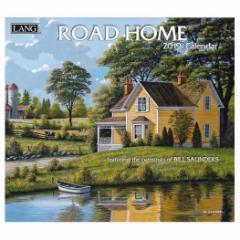 カレンダー 2019 ラング LANG 海外 ROAD HOME Bill Saunders インテリア平成31年 暦 通販  予約