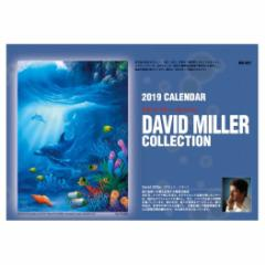 カレンダー 2019年 卓上 デビットミラー 海外作家 アート インテリア トーダン 平成31年暦 メール便可