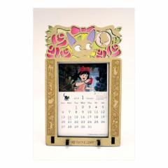 70%OFF 魔女の宅急便 カレンダー 2019 年 壁掛け ステンドフレーム 9月下旬発売予定 19×12cm 2019 Ca SALE 2/25朝10時まで