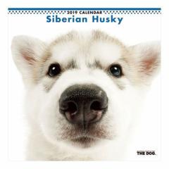 シベリアンハスキー カレンダー 2019 年 壁掛け THE DOG いぬ 9月中旬発売予定 60×30cm 2019 Calendar 予約