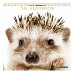 THE HEDGEHOG カレンダー 2019 年 壁掛け はりねずみ 9月中旬発売予定 60×30cm 2019 Calendar 予約