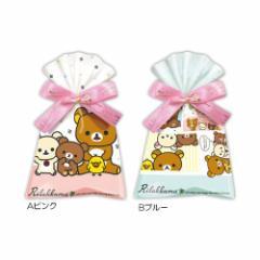 リラックマ チョコレート バレンタイン リボン付き プレゼントバッグ in ソフト チョコレート お菓子ギフト サンエックス