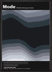 取寄せ品 送料無料 Modern design studio Mode IMD-11100 インテリアアートポスター額付