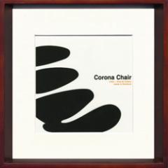 取寄せ品 送料無料 Toshiaki Yasukawa Corona Chair ITY-14047 インテリアアートポスター