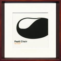 取寄せ品 送料無料 Toshiaki Yasukawa Pastil Chair ITY-14048 インテリアアートポスター