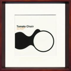 取寄せ品 送料無料 Toshiaki Yasukawa Tomato Chair ITY-14049 インテリアアートポスター