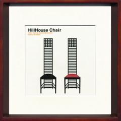 取寄せ品 送料無料 Toshiaki Yasukawa Hillhouse Chair ITY-14050 インテリアアートポスター
