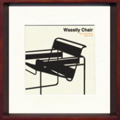 取寄せ品 送料無料 Toshiaki Yasukawa Wassily Chair ITY-14281 インテリアアートポスター