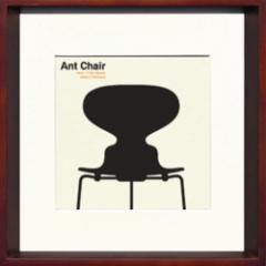取寄せ品 送料無料 Toshiaki Yasukawa Ant Chair ITY-14283 インテリアアートポスター