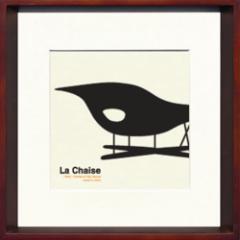 取寄せ品 送料無料 Toshiaki Yasukawa La Chaise ITY-14284 インテリアアートポスター