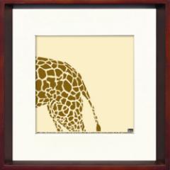 取寄せ品 送料無料 Toshiaki Yasukawa Giraffe ITY-14288 インテリアアートポスター