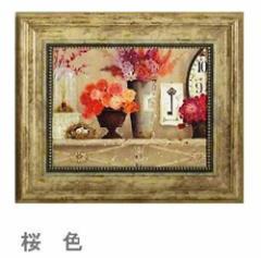 取寄せ品 キャサリン・ホワイト 桜色 Sサイズ 額付きポスター インテリアフラワーアート