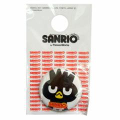 サンリオ×パンソンワークス バッドばつ丸 1インチ缶バッジ サンリオキャラファッション雑貨 メール便可
