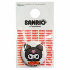 サンリオ×パンソンワークス クロミ 1インチ缶バッジ サンリオキャラファッション雑貨 メール便可