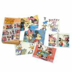 ミッキー&ミニー コミック マッチボックスラベルステッカー ディズニーキャラクターグッズ シール