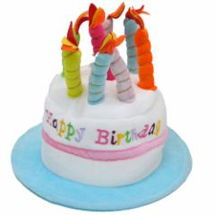 HAPPY BIRTHDAY HAT ホワイト ハッピーバースデー帽子 お誕生日パーティー用品