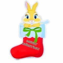 ミスバニー クリスマス ダイカットBIGステッカー ディズニーキャラクターグッズ シネマコレクション メール便可