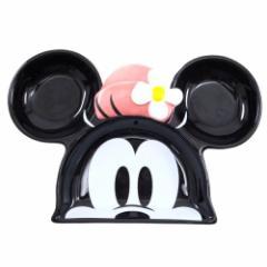 ミニーマウス ランチプレート 陶器製お皿 ディズニーキャラクターグッズ シネマコレクション