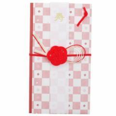 和ごころ 小桜市松 御祝儀袋 短冊・中封筒付き ご結婚お祝い 寿 可愛い熨斗袋 水引 金封 メール便可