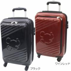 送料無料 ミッキーマウス ジッパーポケット付き115cmキャリーバッグ 機内持ち込みスーツケース ディズニーキャラクター