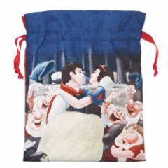 白雪姫 巾着袋 トラベルきんちゃくポーチSディズニー スモールプラネット 20×26cm 旅行仕分け袋 キャラクター グッズ