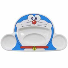 ドラえもん キッズ食器 ランチプレート 仕切り皿 ダイカット キャラクターグッズ