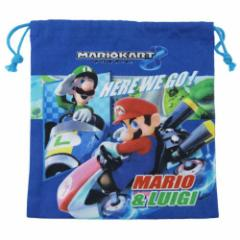 スーパーマリオ 巾着袋 きんちゃくS マリオカート8 キャラクターグッズ