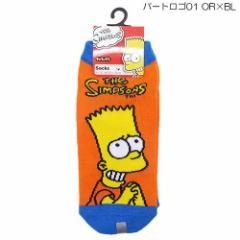 シンプソンズ 女性用靴下 レディースソックス バート ロゴ 01 アニメキャラクターグッズ