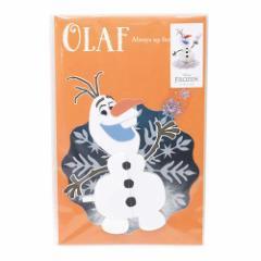 アナと雪の女王 グリーティングカード ハニカム多目的メッセージカード オラフ ディズニー キャラクターグッズ