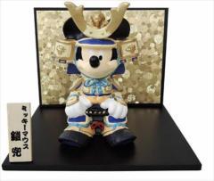 送料無料 ミッキーマウス 五月人形 武者人形 鎧兜 ディズニー キャラクターグッズ