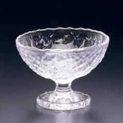 取寄品 送料無料 鳴門 ガラスデザートカップ フラッペ皿 丸 6個セット F-49641 日本製石塚硝子