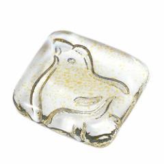 取寄品 送料無料 庄内craft ガラスはし置き ことはぎ紋 10個セット ちどり 日本製石塚硝子