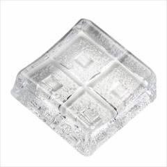 取寄品 庄内craft キッチン雑貨 ガラス箸置き 5個セット F-70861 国産石塚硝子
