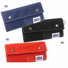 GERRY COSBY/コスビー/財布:メンズ ロング三つ折りウォレット ワンカラーシリーズ メンズブランドファッ