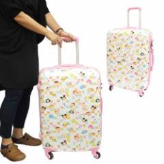 送料無料 DISNEY TSUM TSUM ツムツム スーツケース 22インチキャリーバッグディズニー キャラクターグッズ
