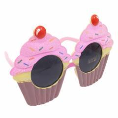 コスプレ メガネ 面白サングラス カップケーキ ハロウィングッズ
