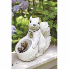取寄品 SQUIRREL オブジェ ガーデンオーナメント L リス 動物 おしゃれインテリア雑貨通販