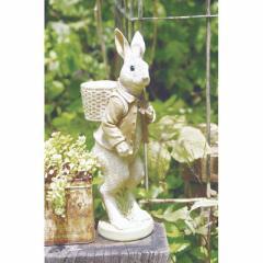 取寄品 WONDER RABBIT オブジェ ガーデンオーナメントウサギ おしゃれインテリア雑貨通販