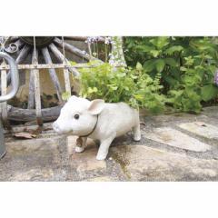 取寄品 PIG'S FARM 鉢植え プランター L ブタ 動物 おしゃれインテリア雑貨通販