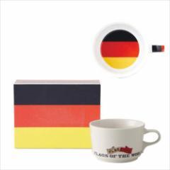 取寄品 国旗 ポストカード マッチ箱 ギフトボックス入り フラッグカフェ マグカップ ドイツ GERMANY 日本製