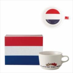 取寄品 国旗 ポストカード マッチ箱 ギフトボックス入り フラッグカフェ マグカップ オランダ NETHERLANDS 日本製