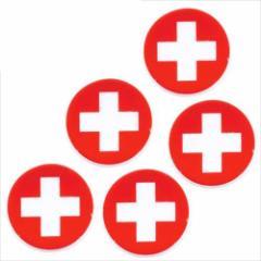取寄品 国旗 箸置き 5個セット フラッグカフェ カトラリーフォルダー スイス SWITZERLAND 日本製