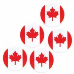 取寄品 国旗 箸置き 5個セット フラッグカフェ カトラリーフォルダー カナダ CANADA 日本製誕生日ギフト雑貨通販