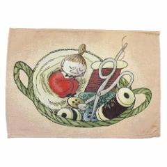 ムーミン ランチョンマット ゴブラン織りランチマット かごの中で 北欧 キャラクターグッズ メール便可