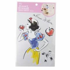 白雪姫 ミニホームデコシール A5ミニウォールステッカーディズニープリンセス キャラクターグッズ メール便可